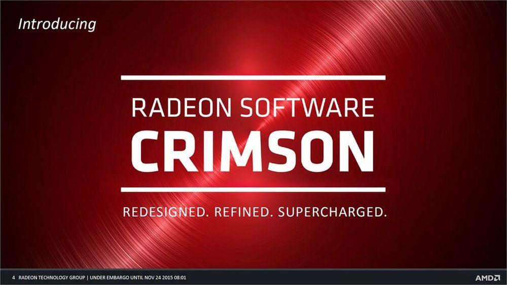 AMD Radeon Crimson Graphics Driver 15 12 Is Up for Grabs - Get It Now