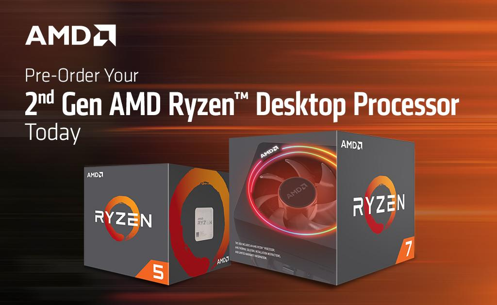 AMD's 2nd Generation AMD Ryzen Processors Lineup Now ...