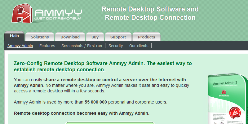 ammy remote desktop