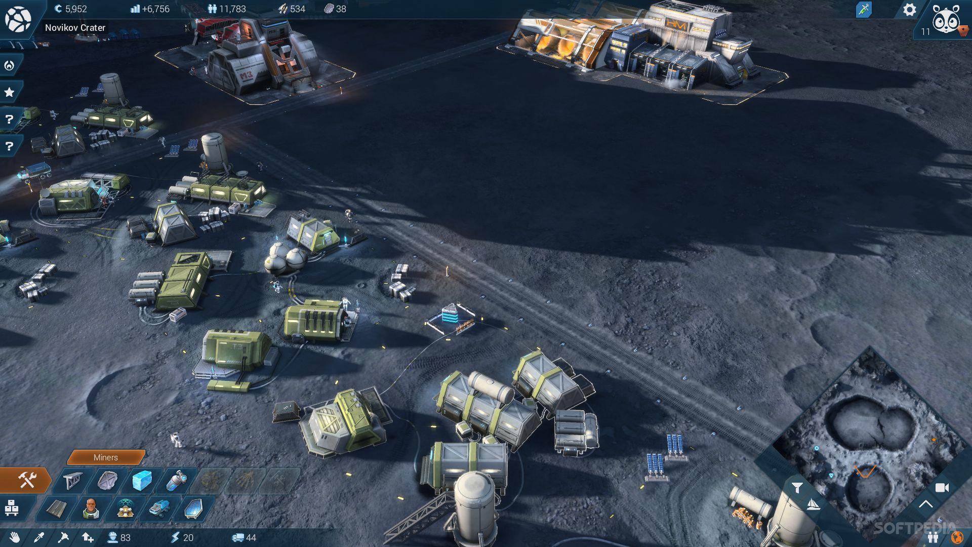Colony Building Exploration Games