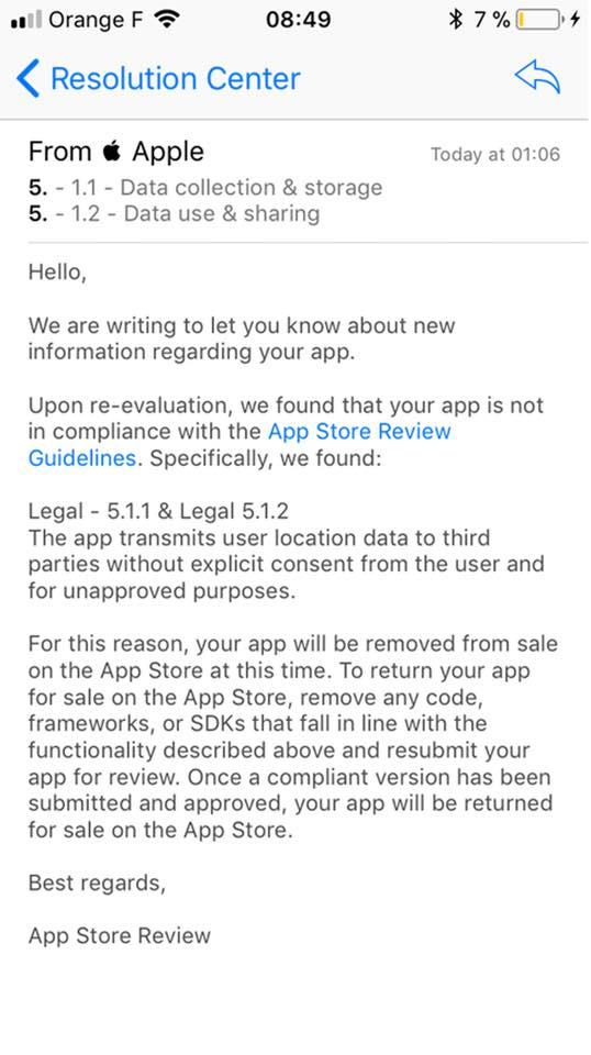 What Is Mac Updated.app Notice