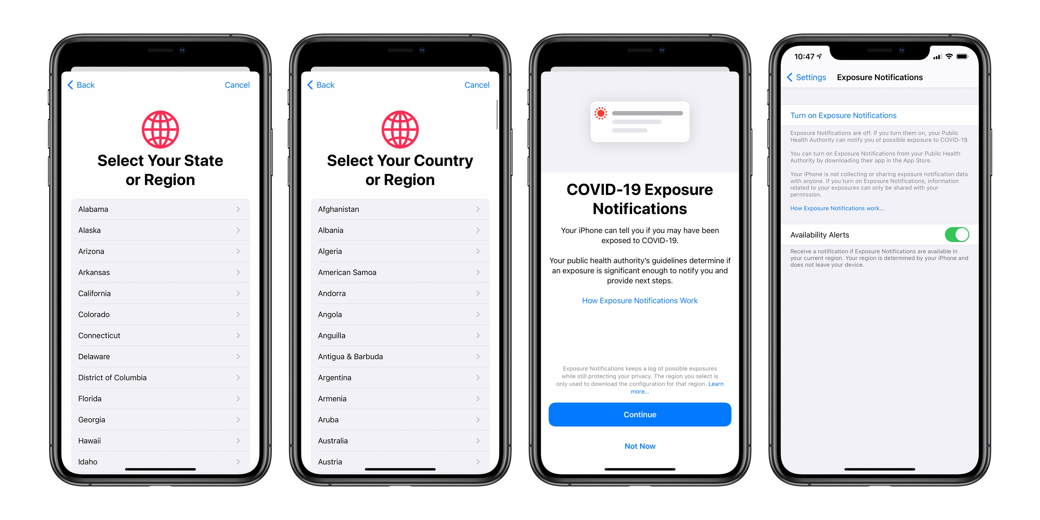 Apple Launches iOS 13.7 with Contact Tracing Without an App