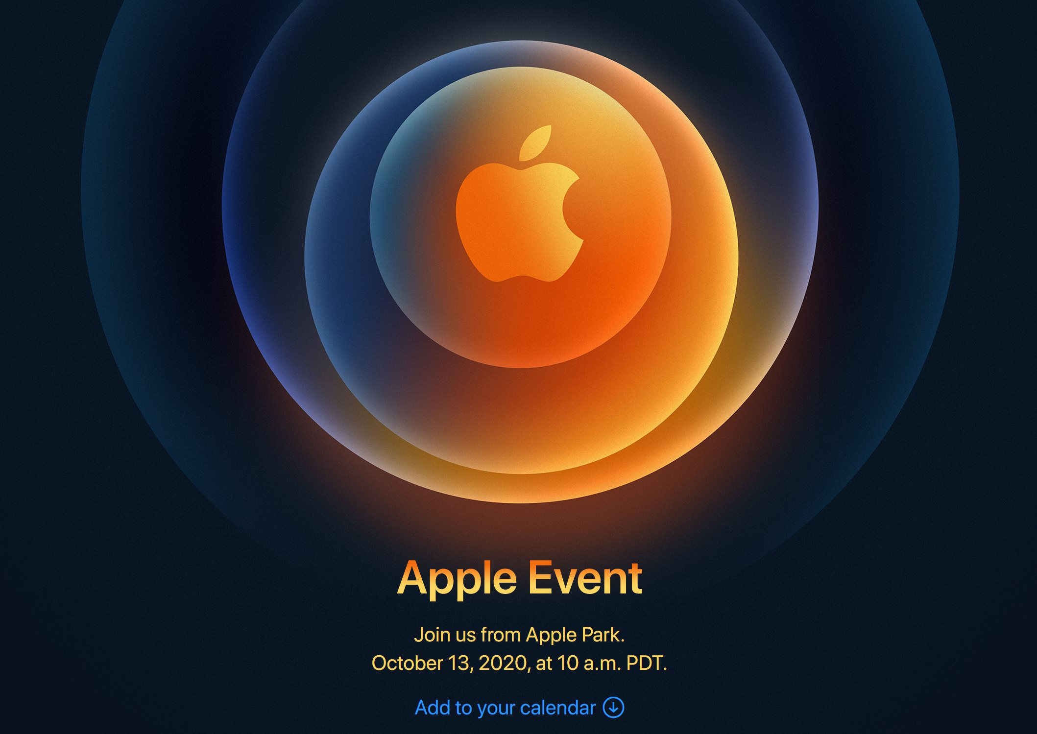 Apple confirms iPhone 12 event, October 13
