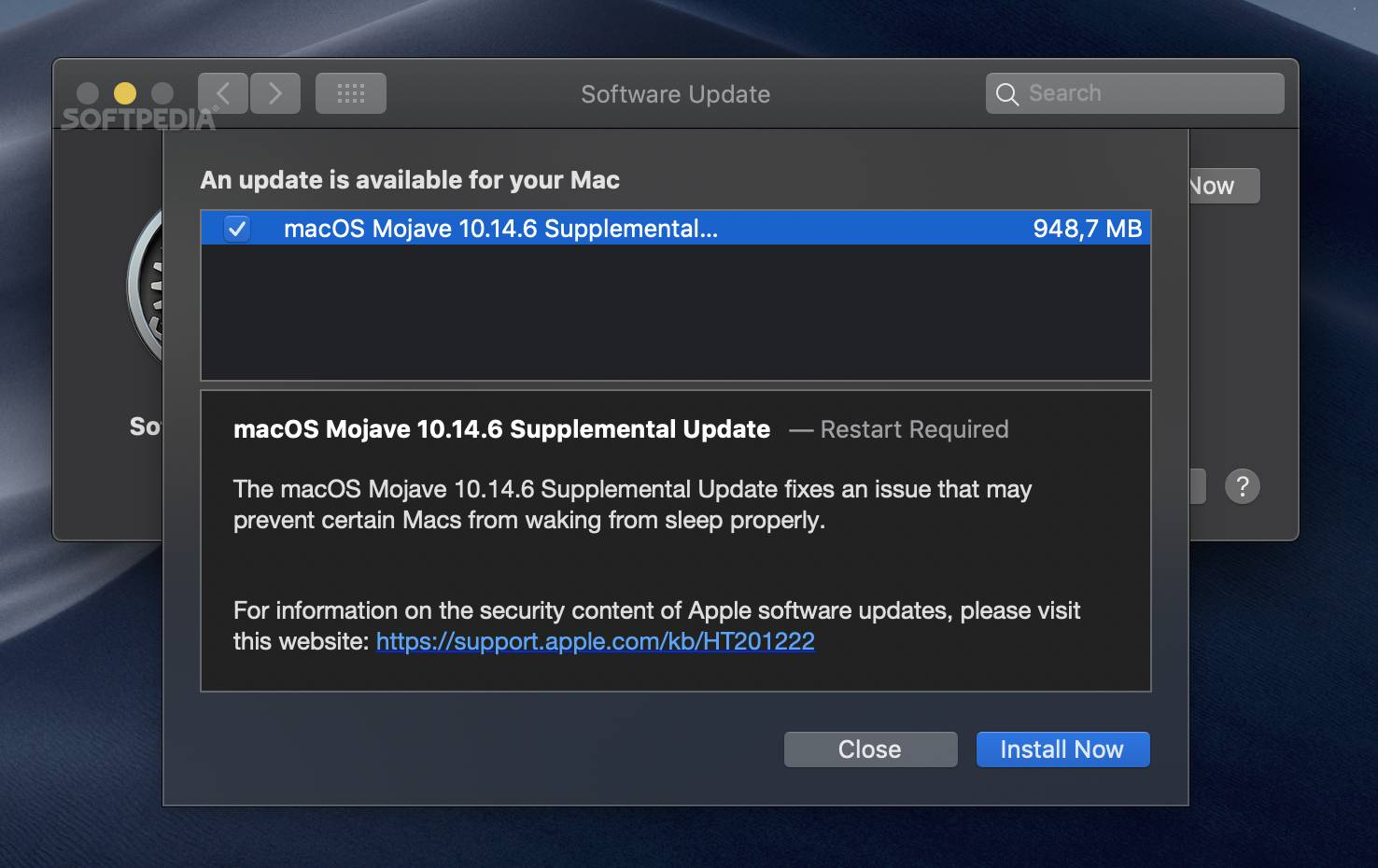 Apple Outs macOS Mojave 10 14 6 Supplemental Update to Fix