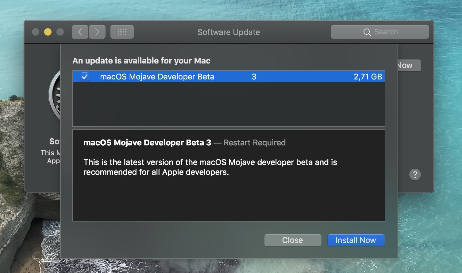 Apple Re-Releases macOS Mojave 10 14 Beta 3 to Developers with