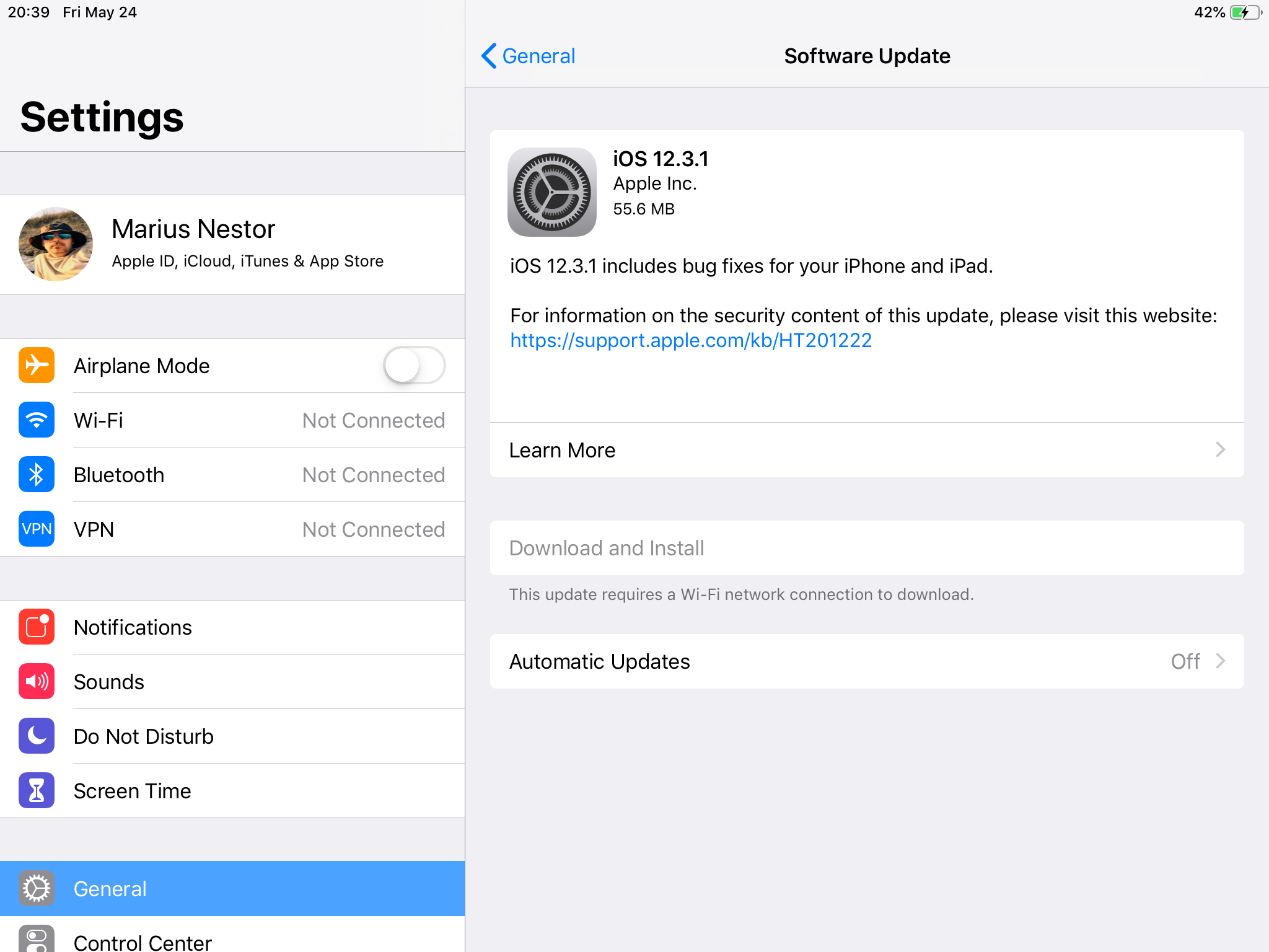 Apple Releases iOS 12 3 1 Update for iPhone and iPad to Fix a Couple