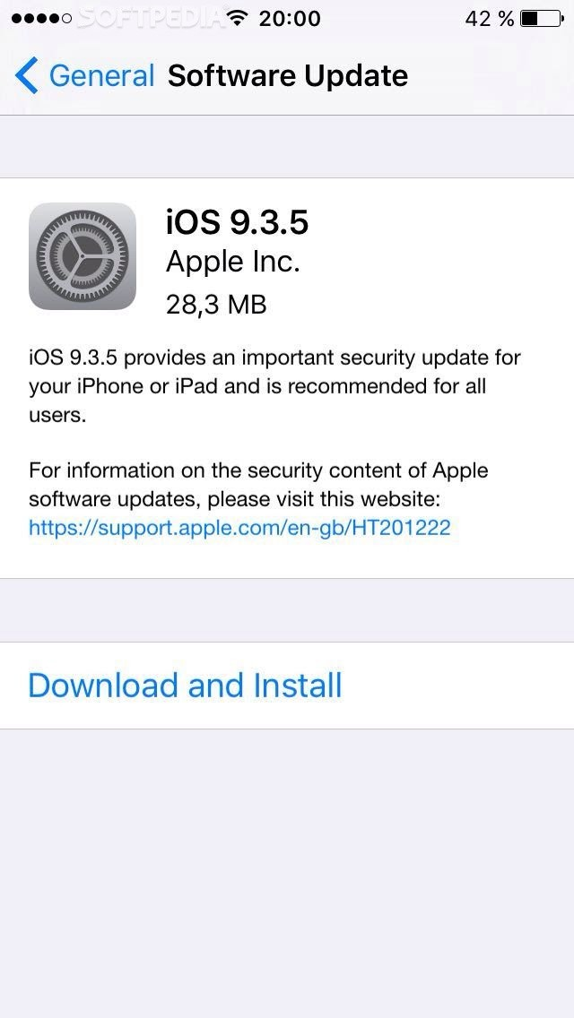 Apple Releases iOS 9 3 5 to Fix Important Security Issues