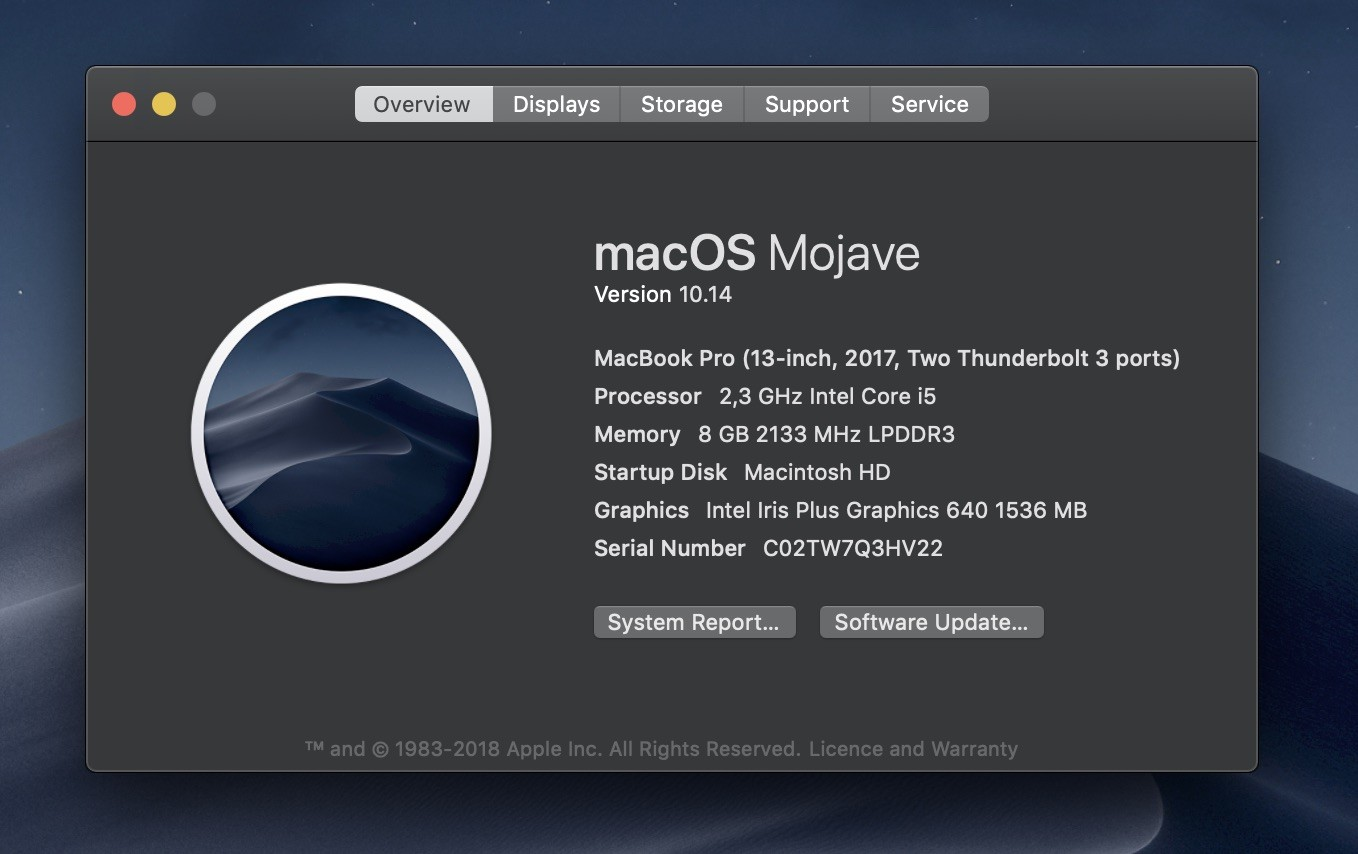 Apple Releases macOS Mojave with Dark Mode and Improvements
