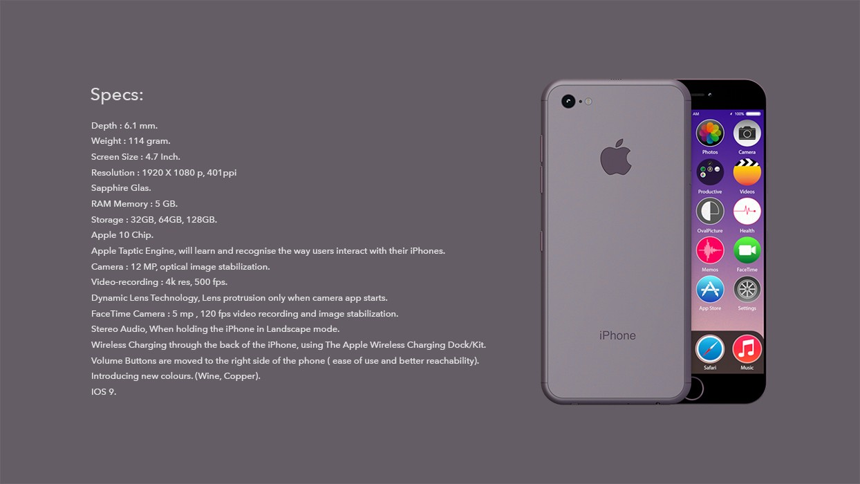 Apple S Iphone 7 To Be 6 Millimeters Thin