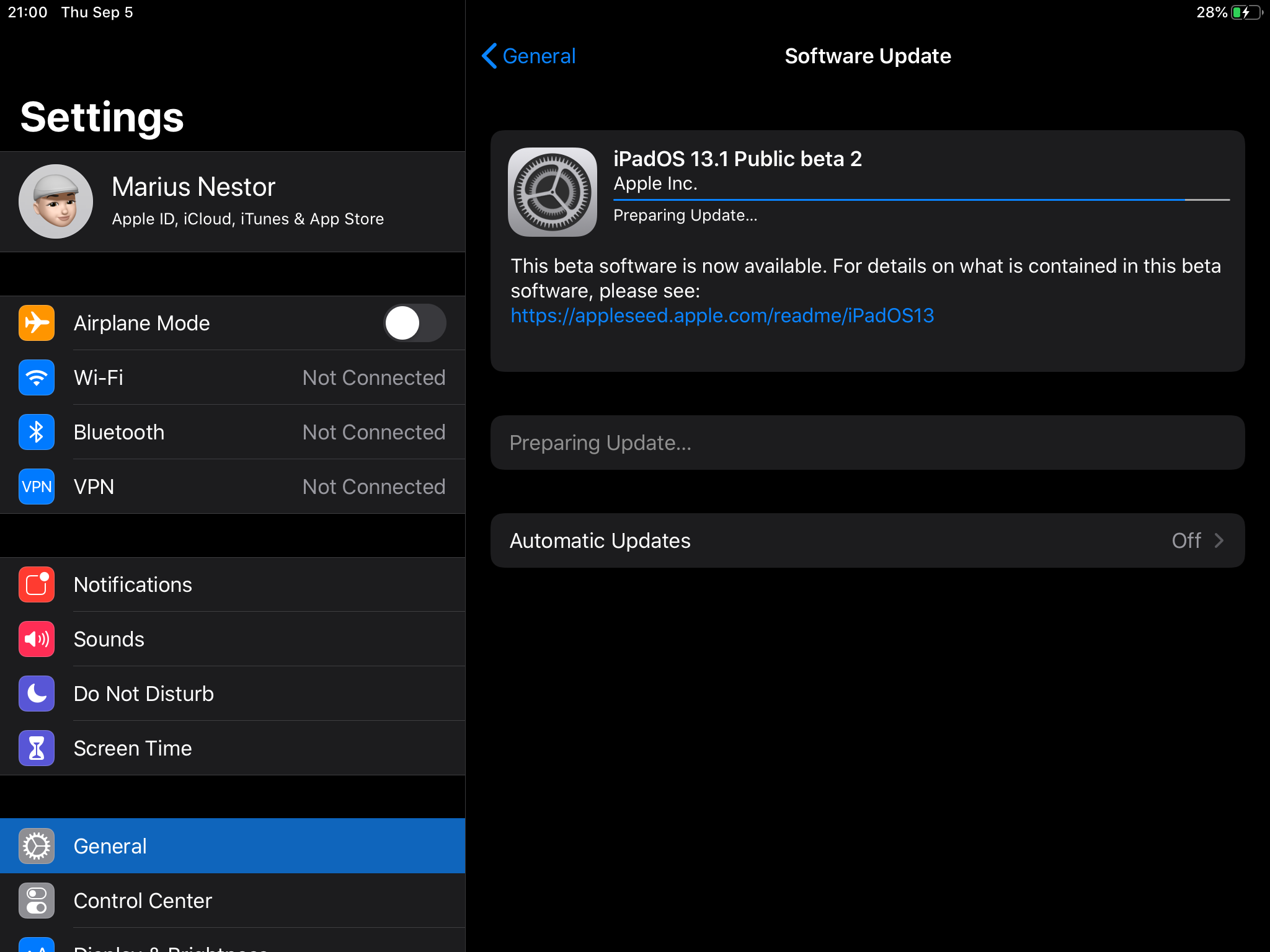 Apple Seeds Second Beta of iOS 13 1 and iPadOS 13 1 to