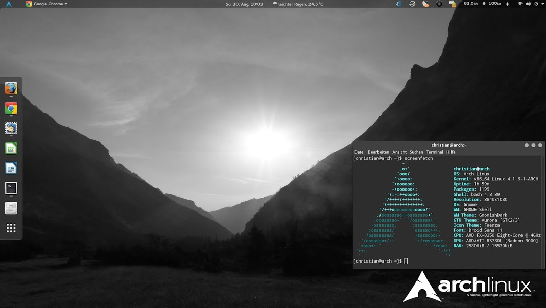Arch Linux 2015 09 01 Is Now Available for Download