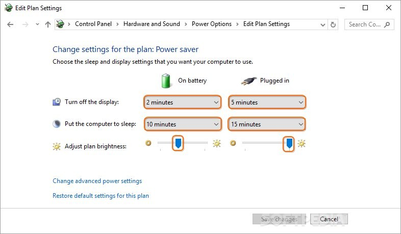 how to change cpu battery power