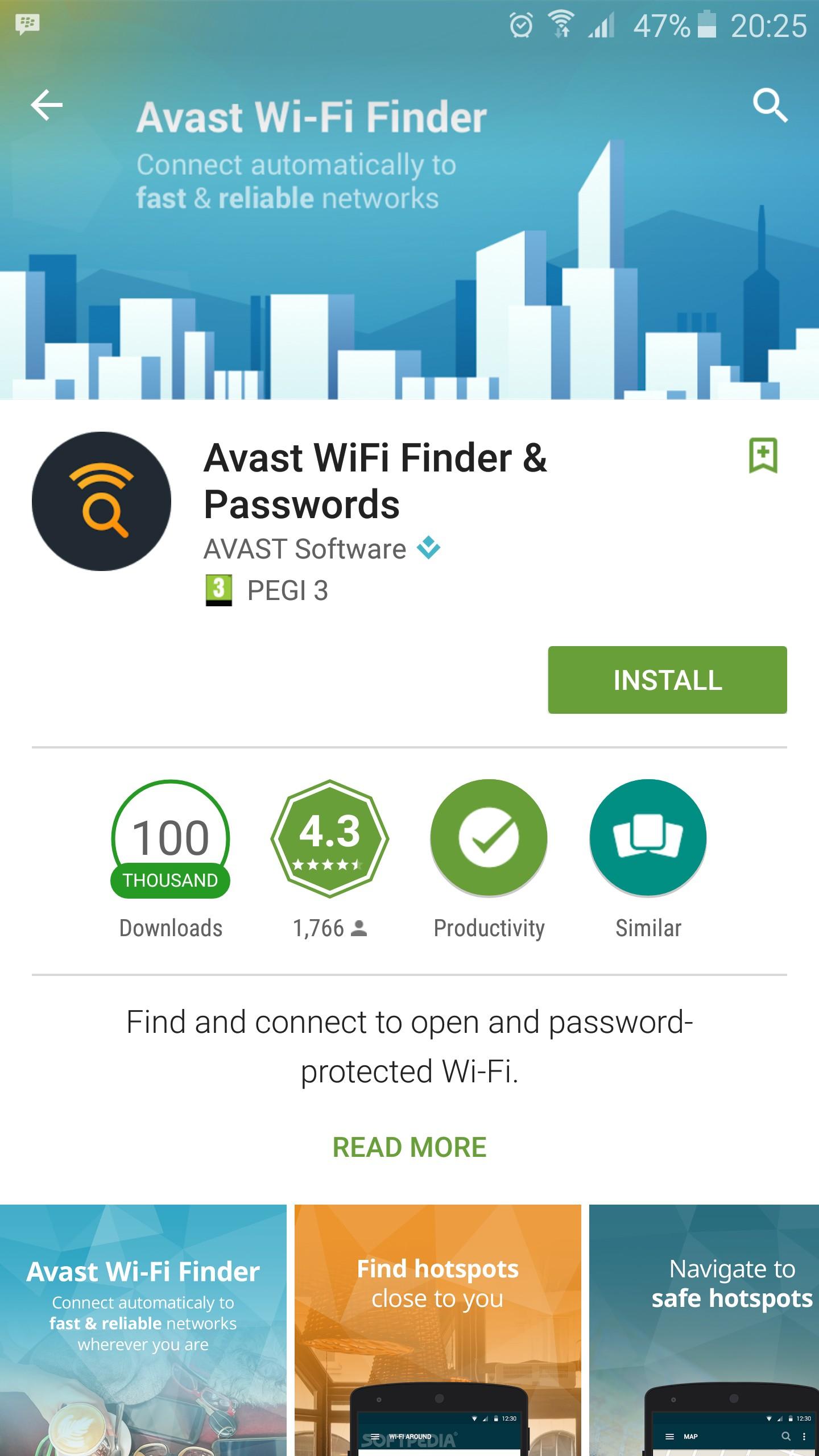 Avast Wlan Finder
