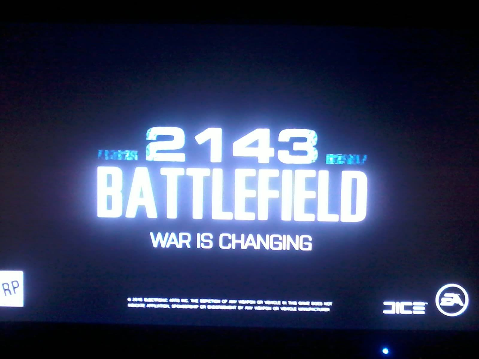 Battlefield 2143 has a new slogan