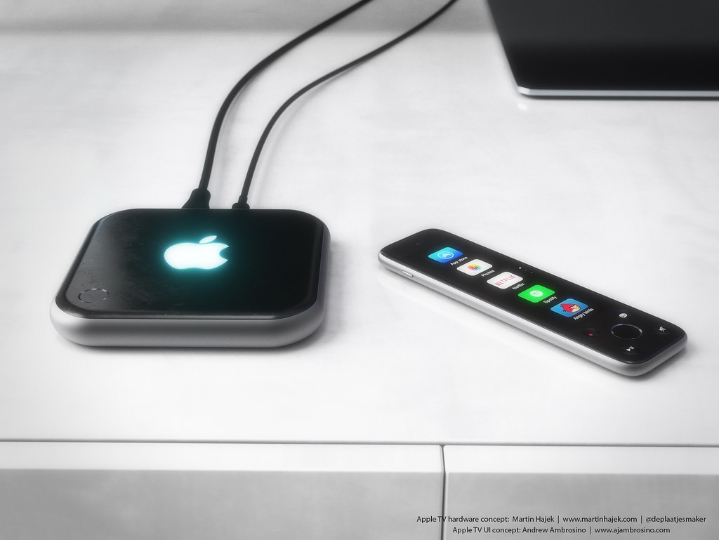 Great-Looking Apple TV 4 Concept