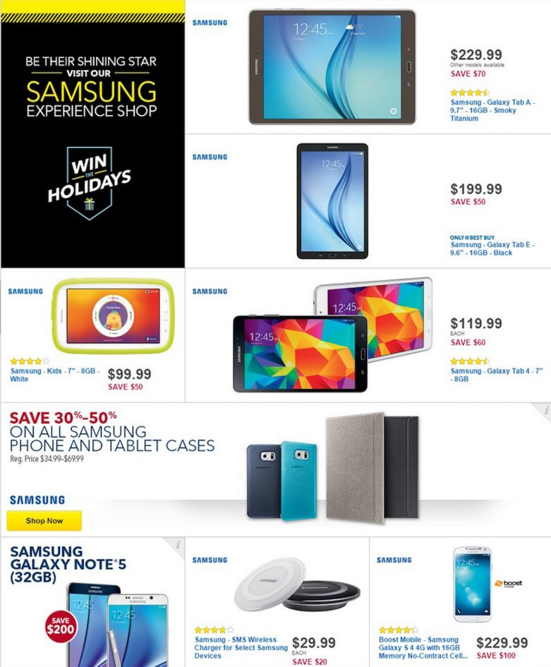 222c121bf79 Best Buy Black Friday Deals Include Samsung Galaxy Note 5 for  50 ...