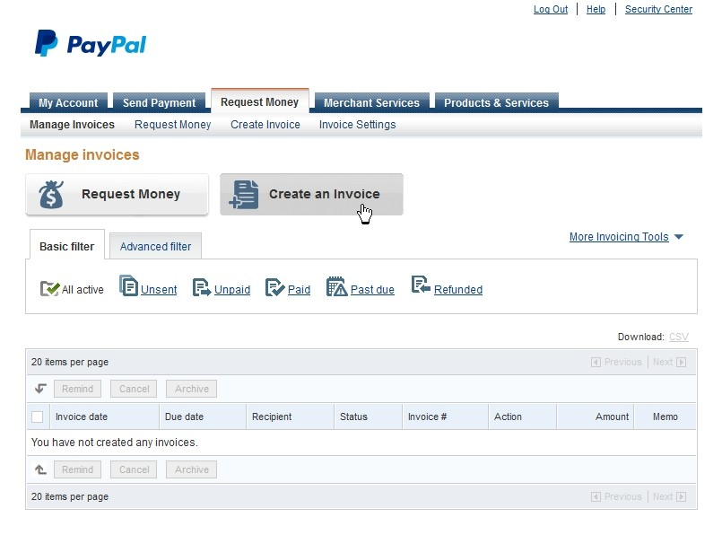 PayPal XSS Vulnerability Found Fixed Before Being Exploited - How to make an invoice through paypal