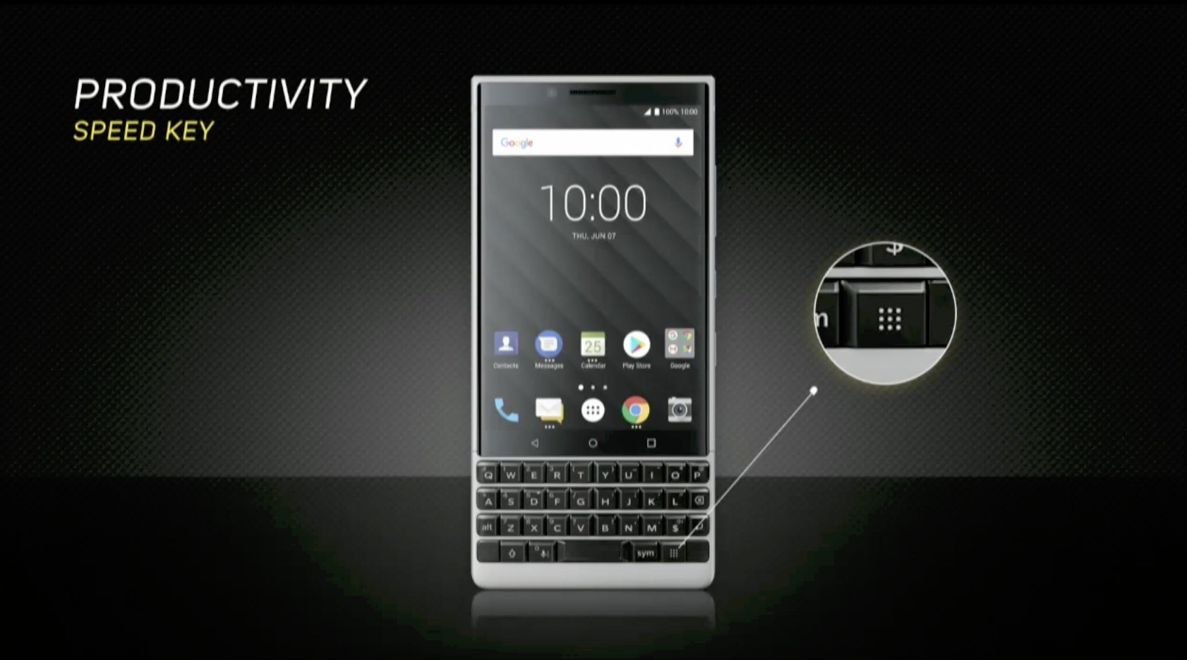 BlackBerry Key2 Launches with Touch-Enabled QWERTY ...
