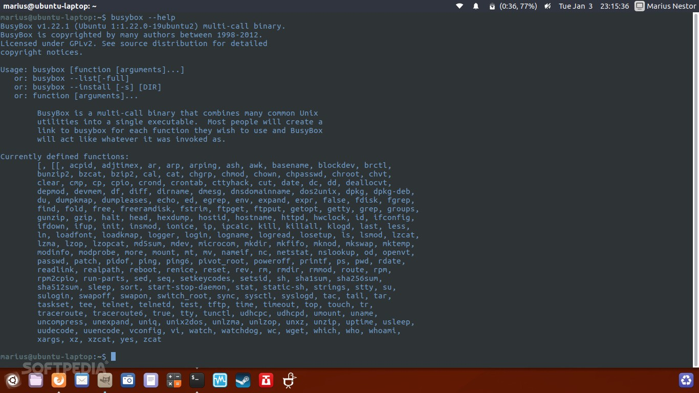 BusyBox 1 26 1 Swiss Army Knife of Linux Hits the Streets as New