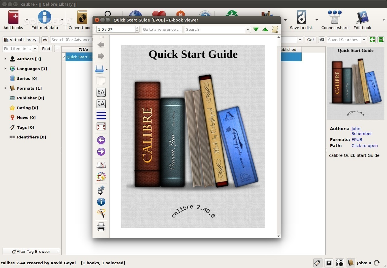 Calibre 2 81 Ebook Manager Can Download Amazon Metadata from