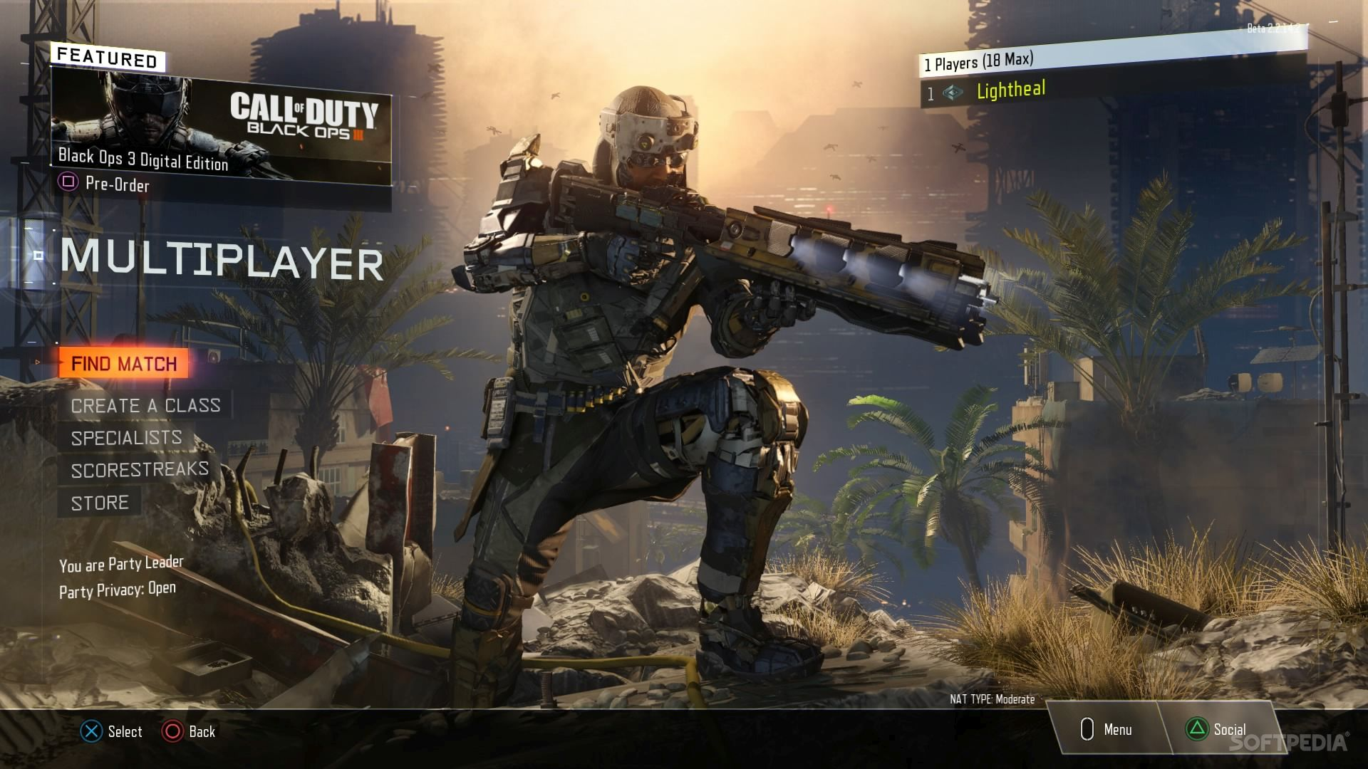 Call Of Duty Black Ops 3 Ps4 Multiplayer Beta Now Available To All Fans