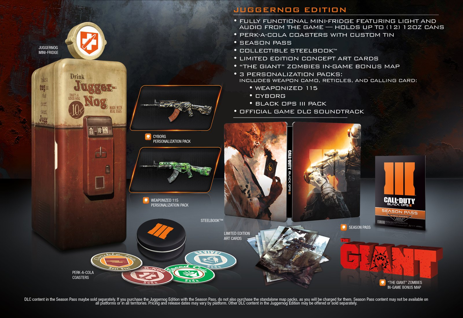 Call of Duty: Black Ops 3 Zombies Details, Juggernog Edition