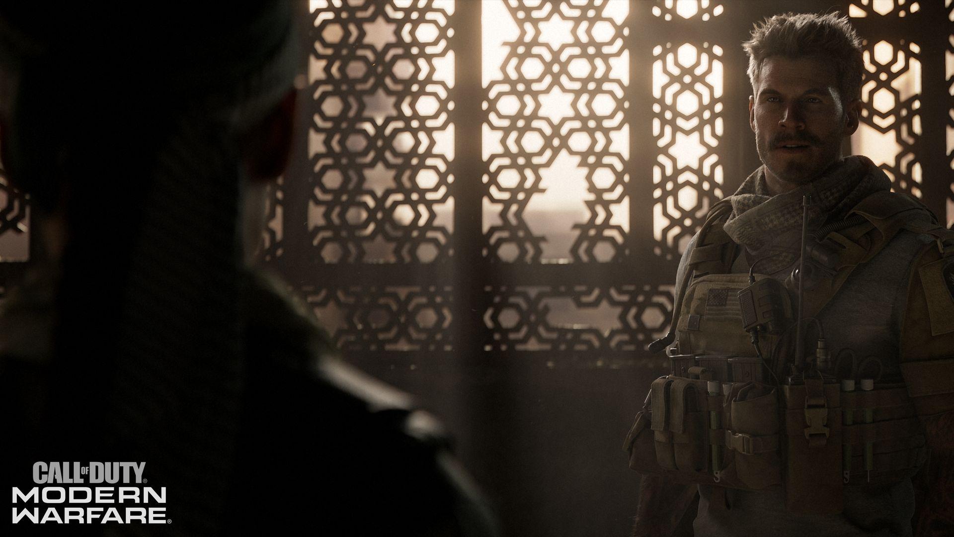 Call Of Duty Modern Warfare Story Trailer Reveals Good Ol