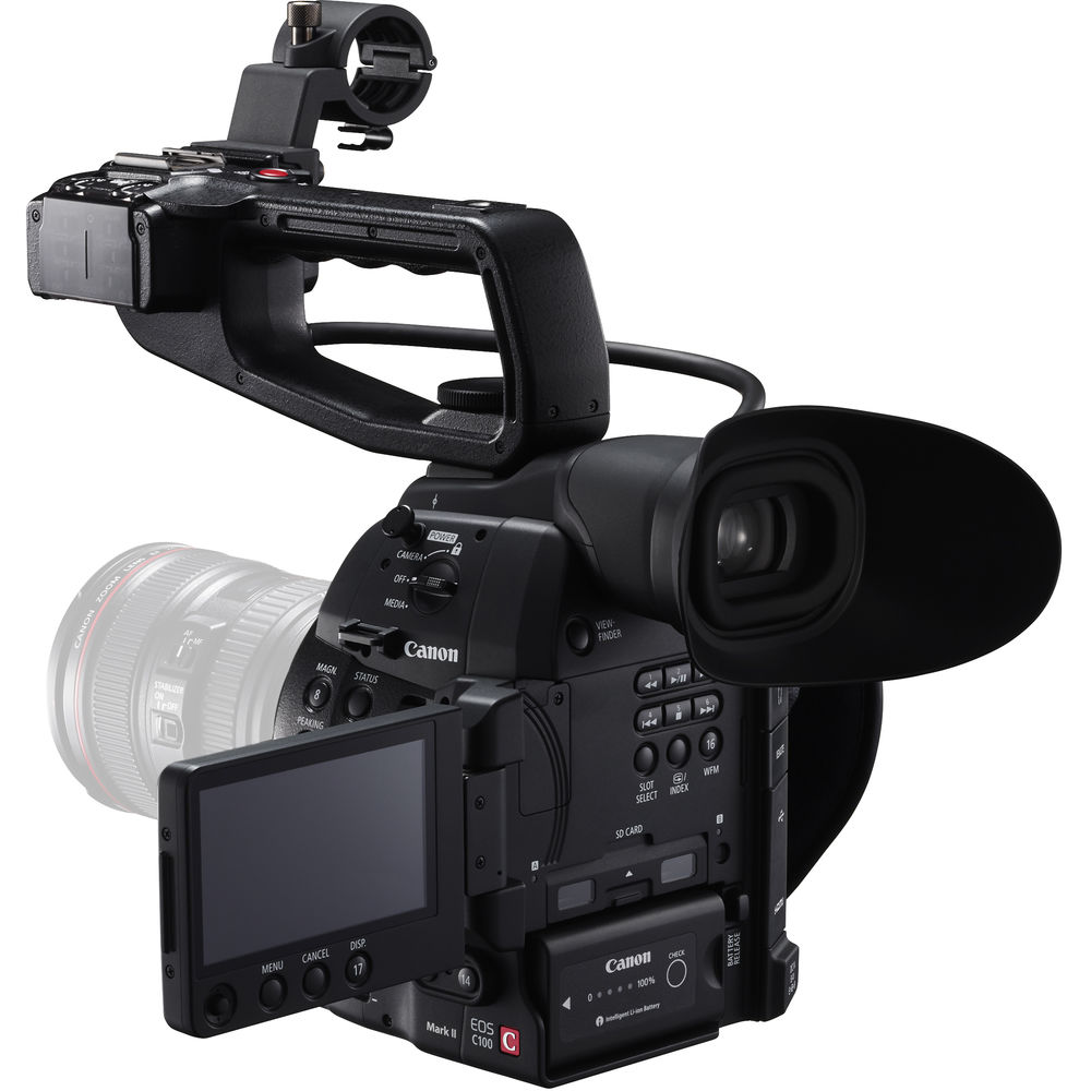 canon c100 can't update firmware