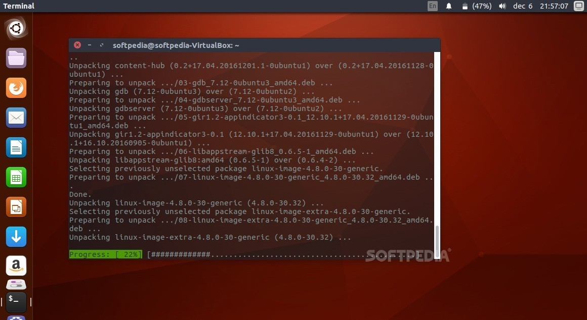 Updating ubuntu kernel version