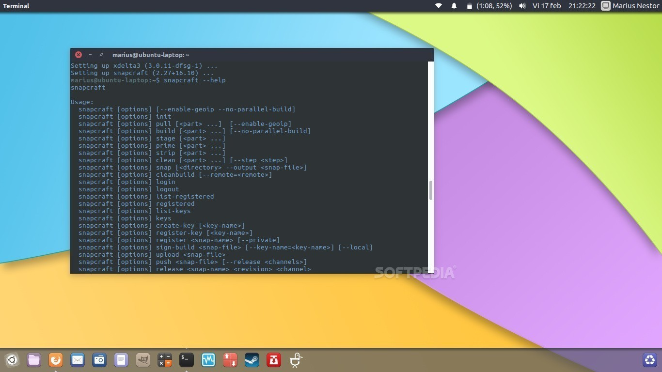 Canonical Updates Snapcraft on Ubuntu with Support for Resuming Snap