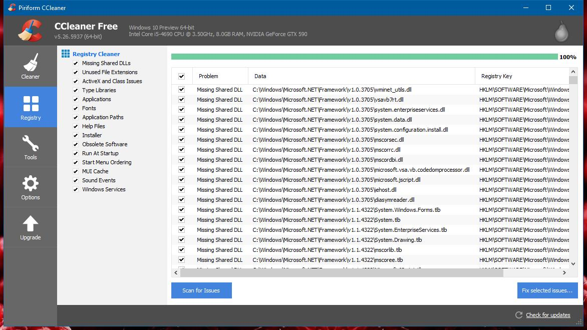CCleaner 5 30 for Windows Released with More Microsoft Edge