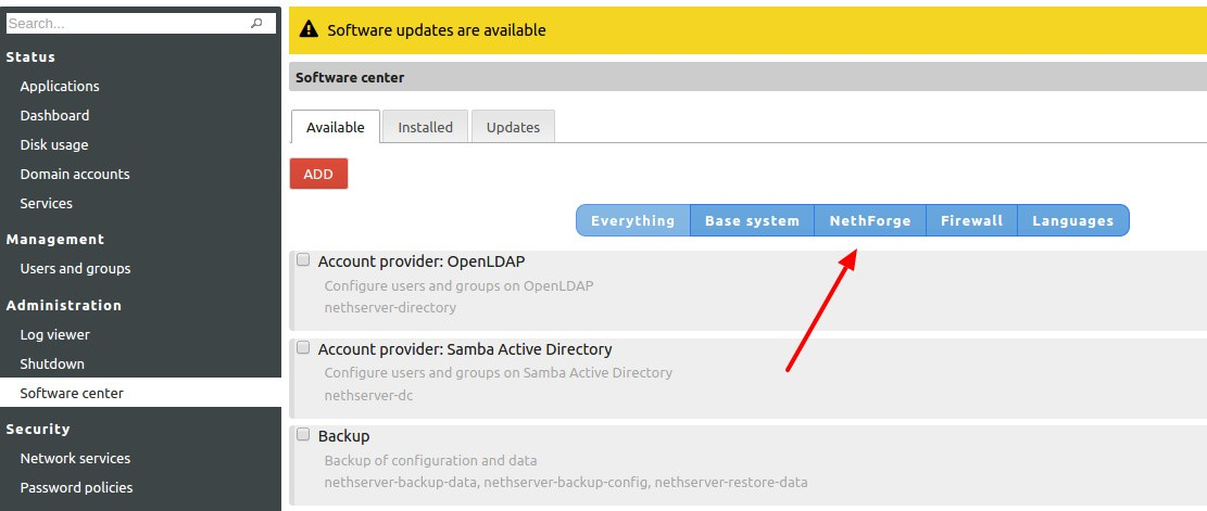 CentOS-Based NethServer 7 Linux Adds Active Directory Integration in