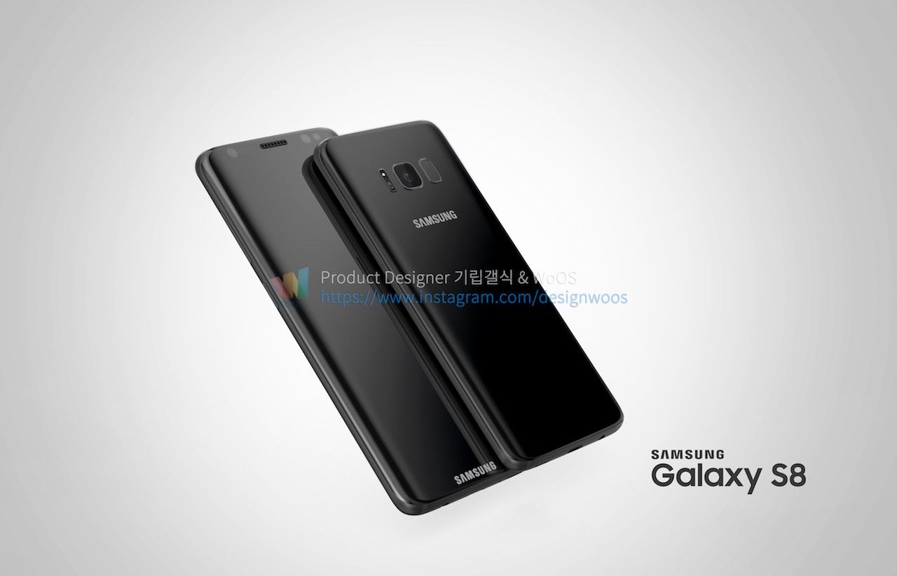 Concept Images Show Stunning Samsung Galaxy S8 in Multiple