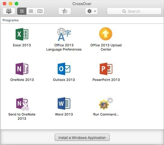 CrossOver 16 2 Supports Microsoft Outlook 2013, Improves