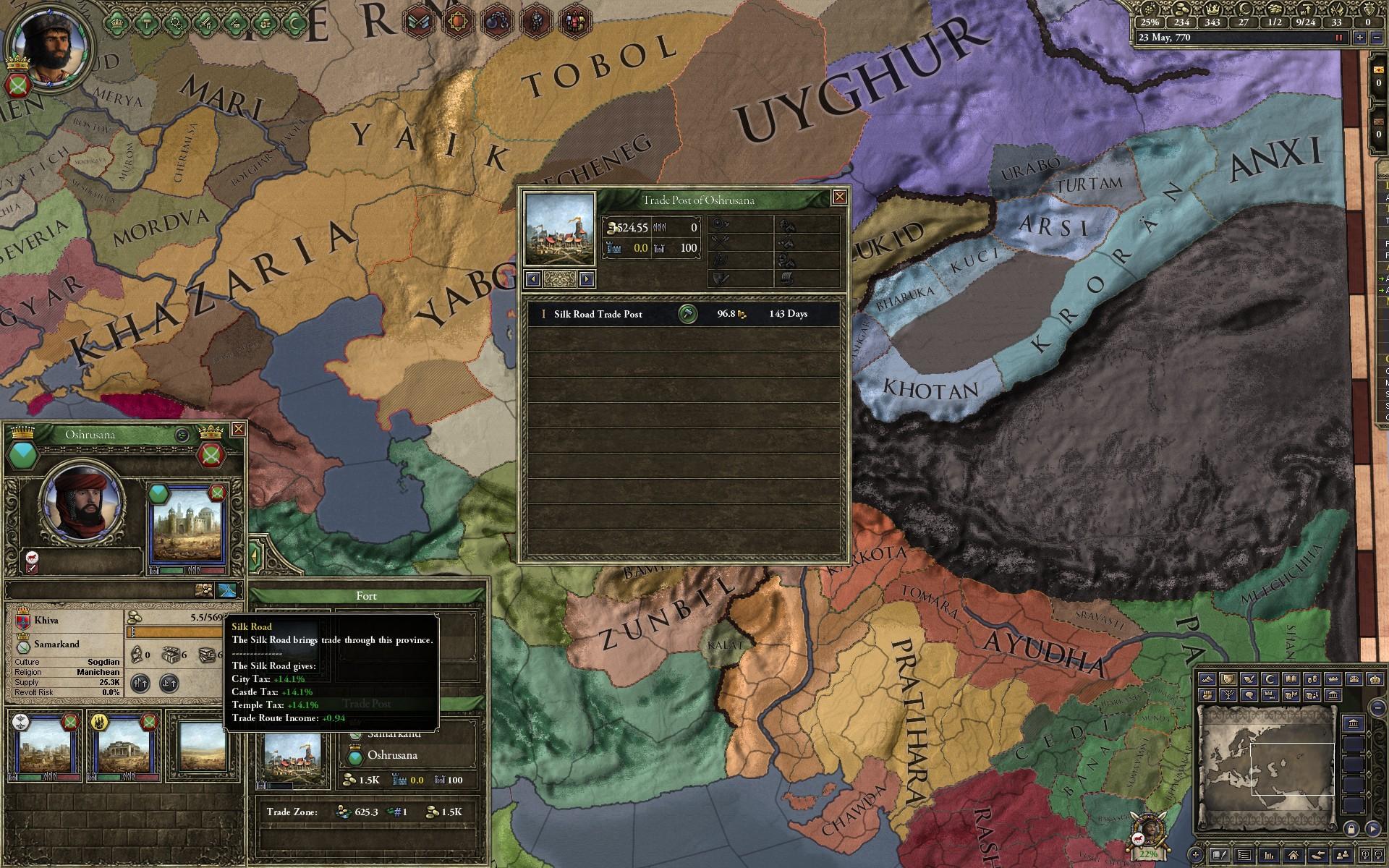 Crusader Kings II Adds Silk Road Mechanics, Raiding Adventures in