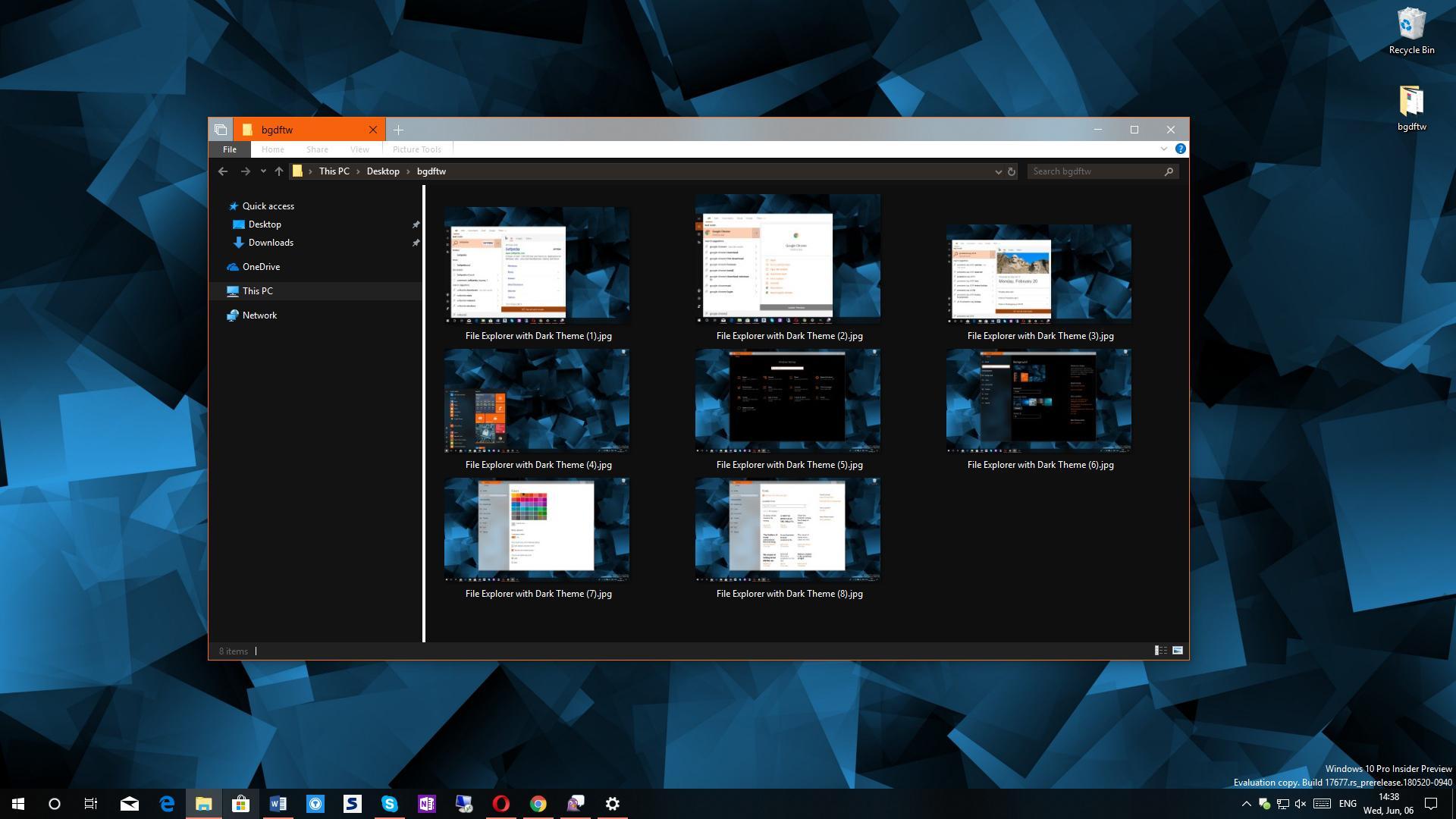 Dark Theme Battle: Microsoft's File Explorer vs  Apple's macOS Mojave