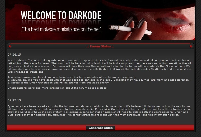 Darkode Forum User Gets One Year in Jail for Selling Botnet