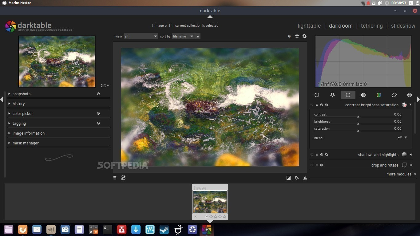darktable 2 4 RAW Image Editor Promises Support for