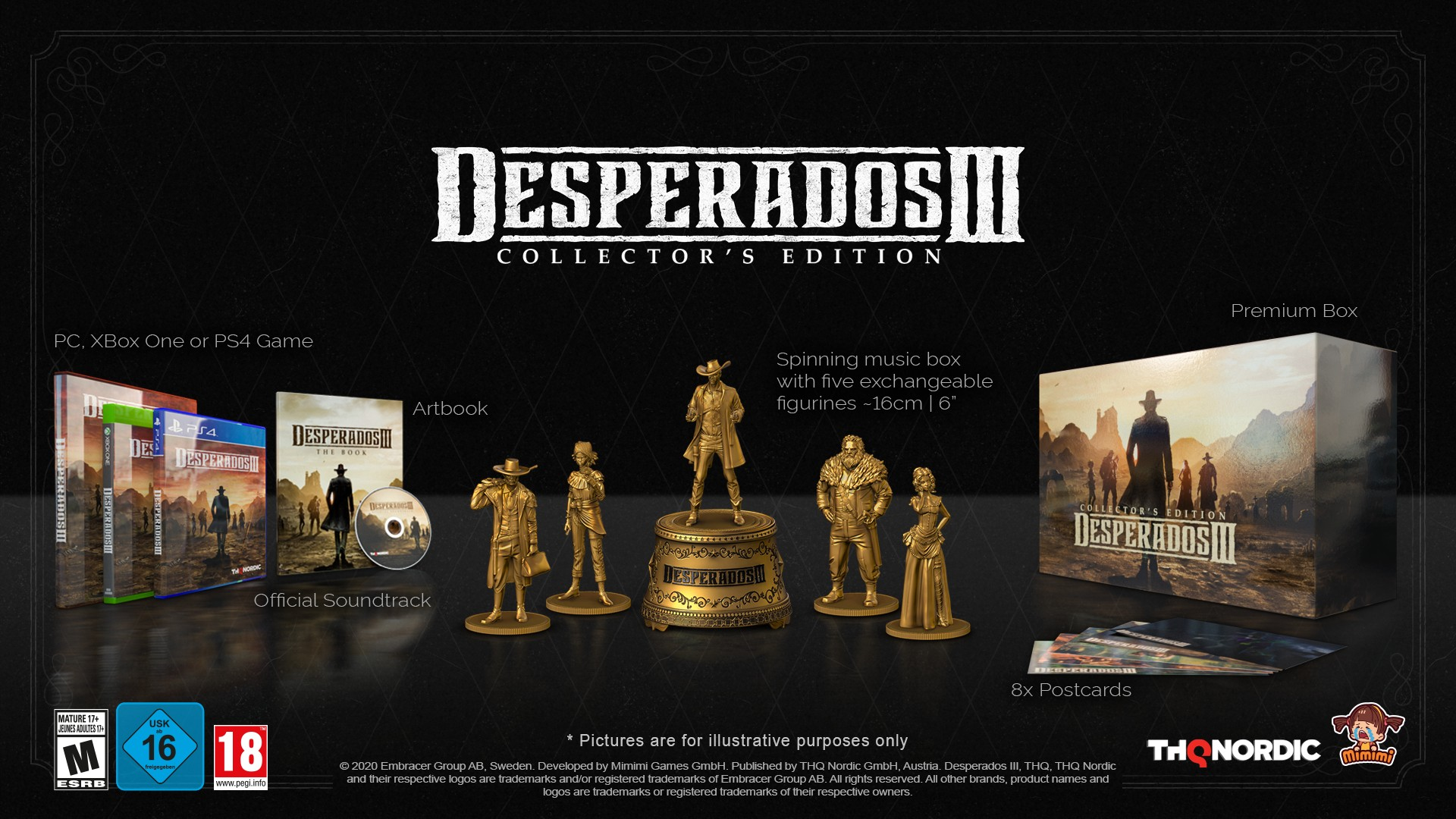 Desperados 3 brings tactical cowboys to gamers in June