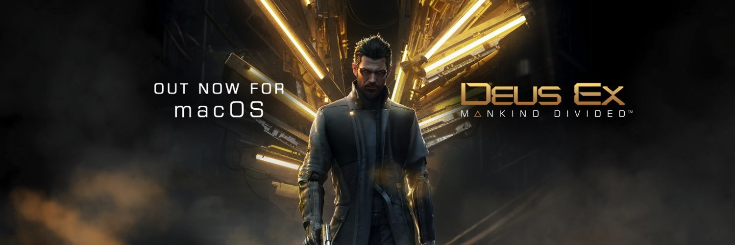 Deus Ex: Mankind Divided Out Now for macOS, Ported by Feral Interactive