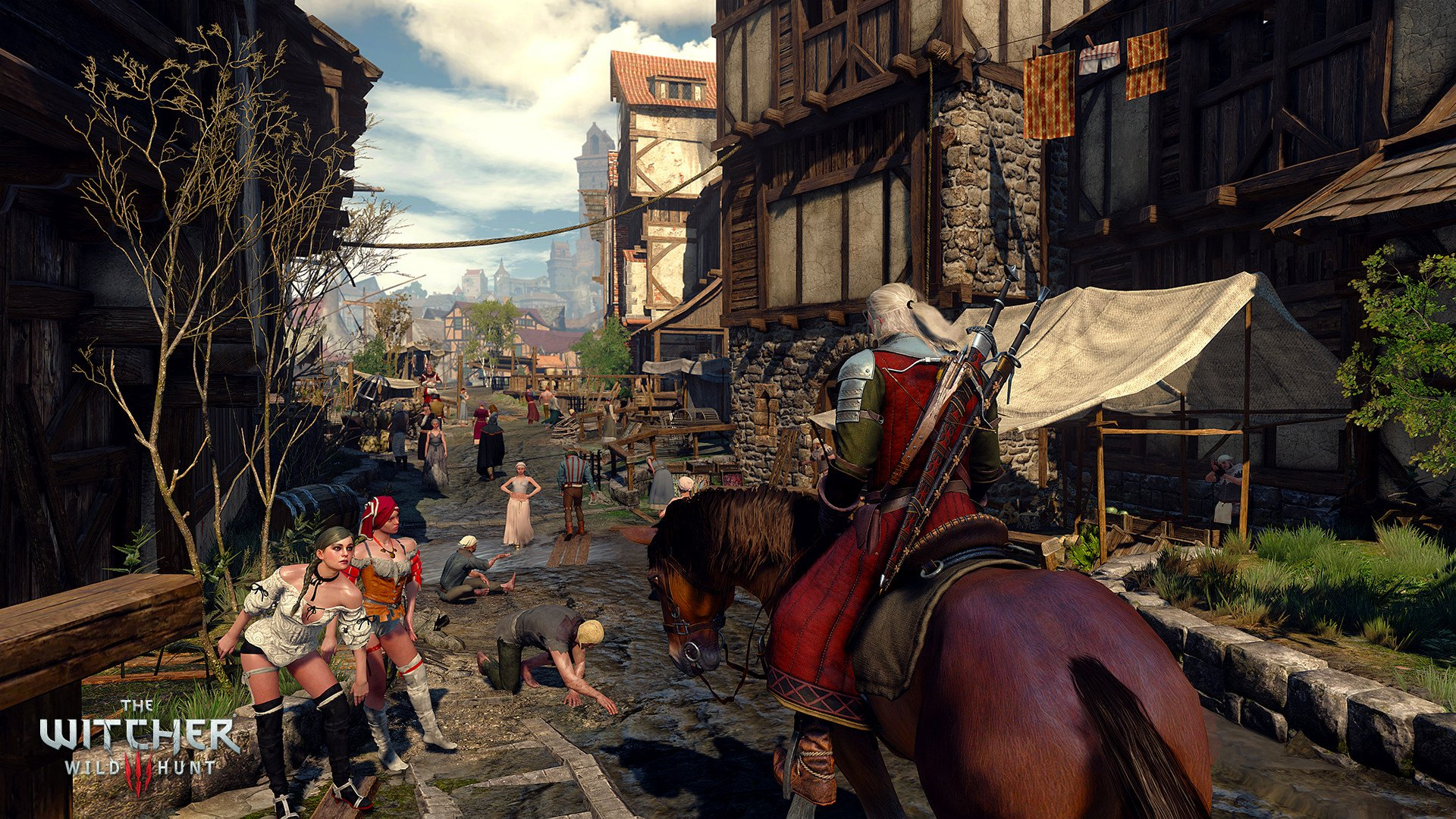 Dev Working on The Witcher 3 Patch 1 08, Advises Turning Off