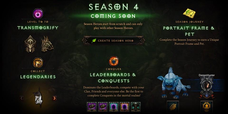 Diablo 3 Reveals Season 4 Details, Patch 2 3 0 Content