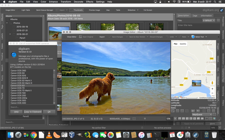 digiKam 5.1.0 RAW Image Editor...