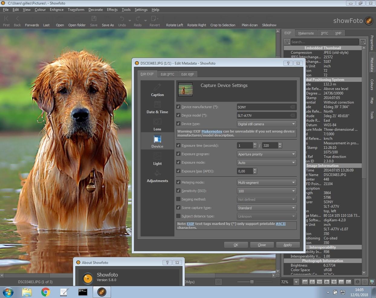 digiKam 5 8 Open-Source Image Manipulator Adds UPnP/DLNA