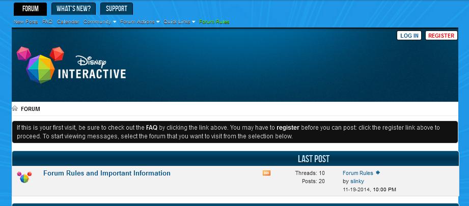 Playdom forums