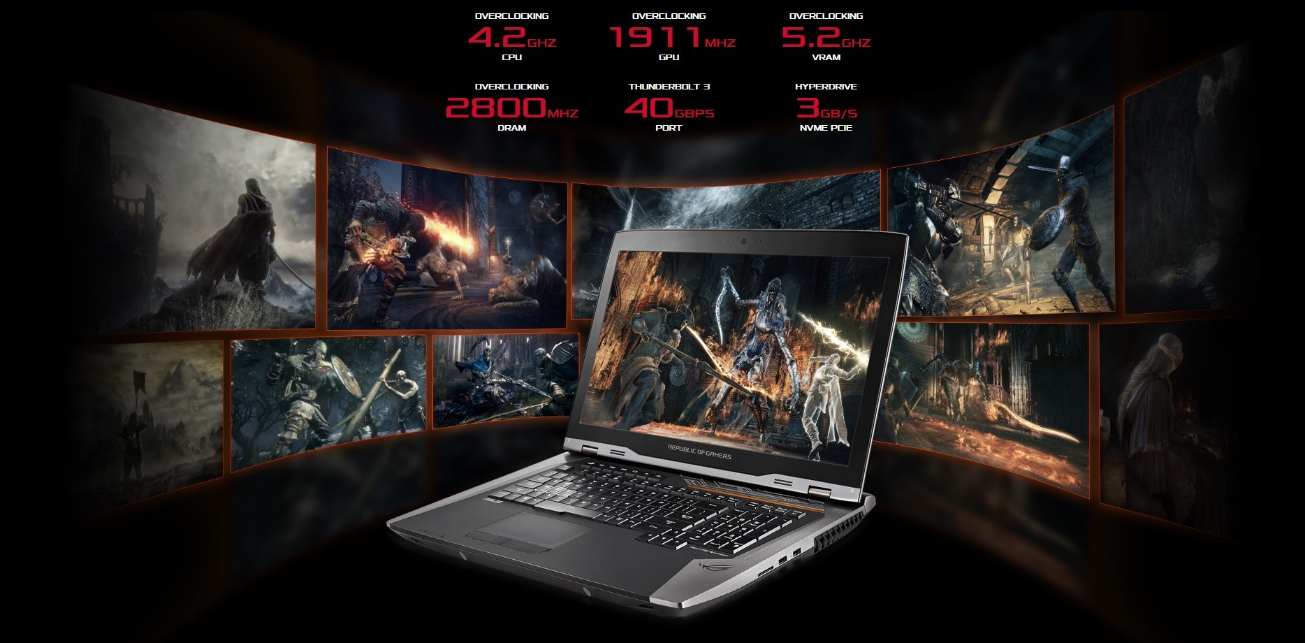 Download Drivers for ASUS' Republic of Gamers G800VI Notebook