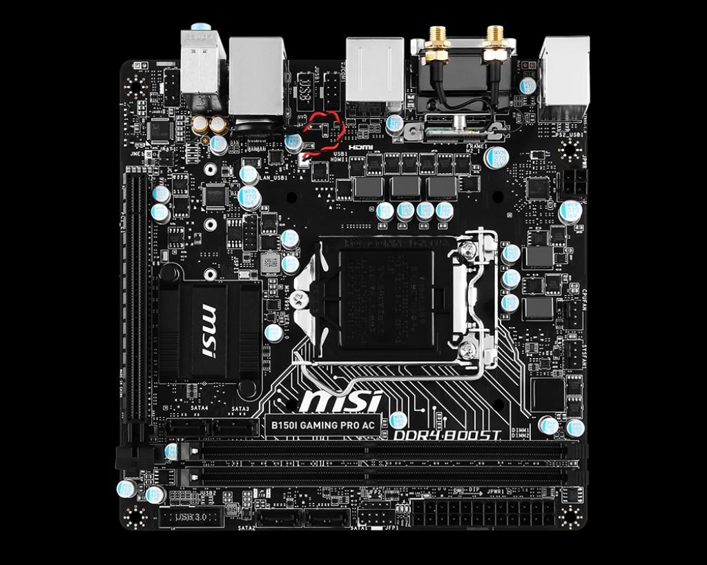 MSI B150I GAMING PRO LAST