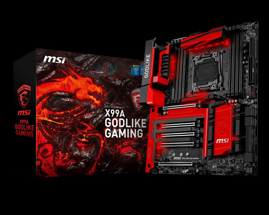 Download Drivers for MSI's X99A Godlike Gaming Motherboard