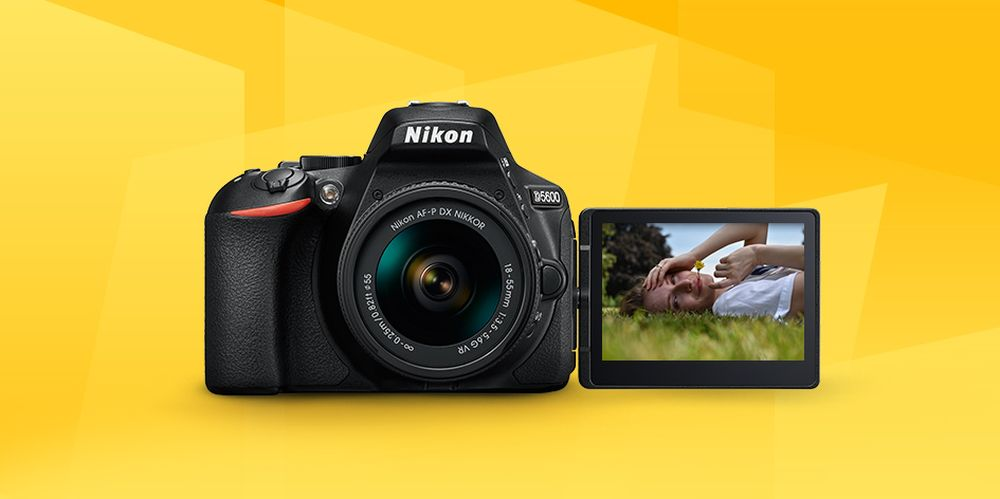 Download Firmware 1 01 and 1 11 for Nikon's D5600 and D3400