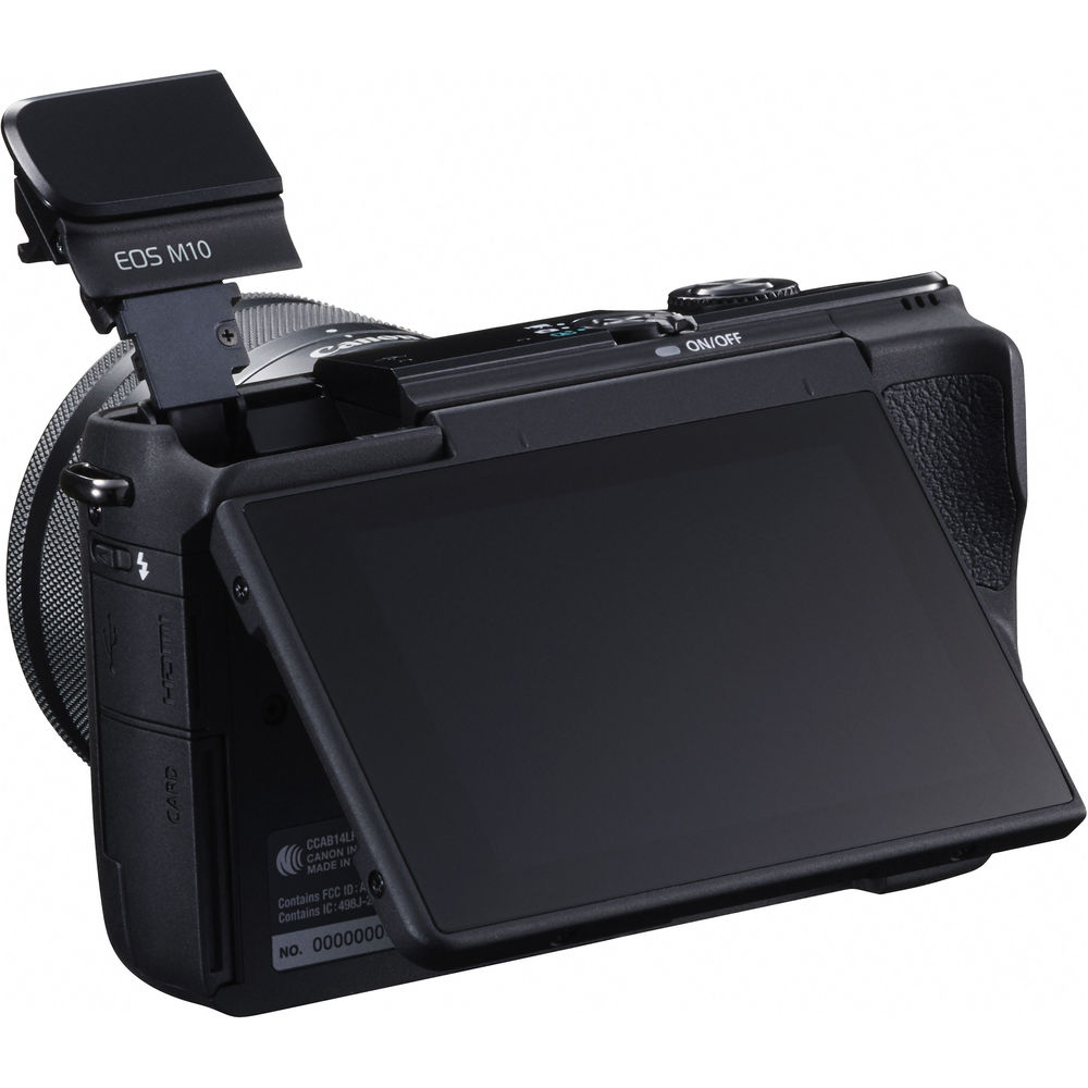 Download Firmware 110 For Canon Eos M3 And M10 Digital Cameras Kit 15 45 Is Stm M 10 Lcd Display Flash